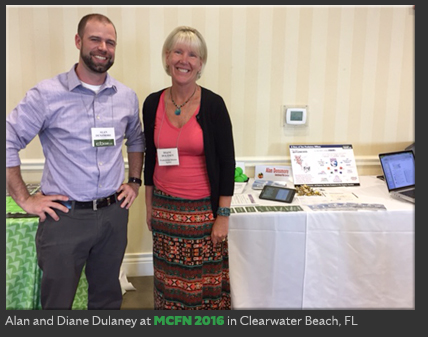Alan and Diane Dulaney at MCFN 2016 in Clearwater Beach, FL